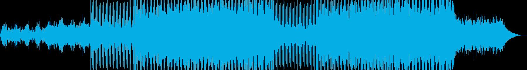 ポップなクラブ系ダンスEDM-05の再生済みの波形
