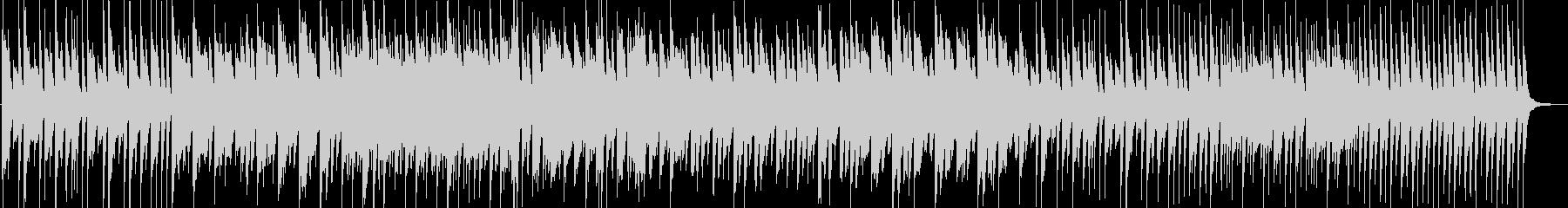 ダークな和風のピアノインストの未再生の波形