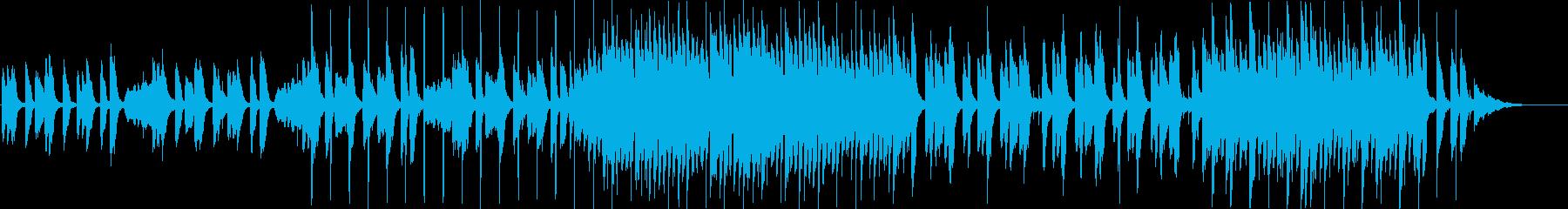 CM】爽やかでコミカルなピアノインストの再生済みの波形