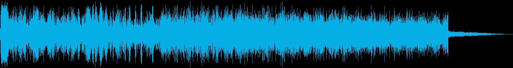 銀河ジェットリフトオフの再生済みの波形