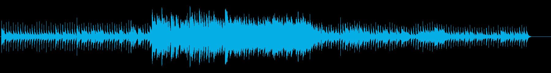 ゆったり風変わりなインディーポップの再生済みの波形