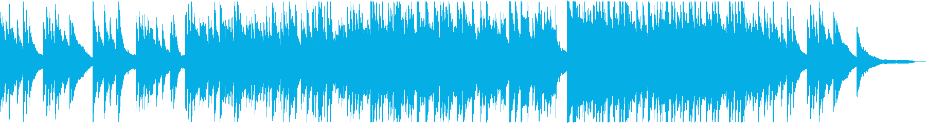 春の夕暮れに聴きたいピアノバラードの再生済みの波形