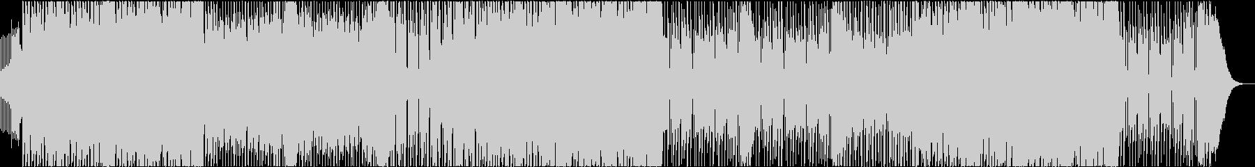 ダブステップ アクション スピードEDMの未再生の波形