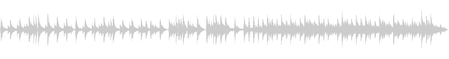 琴、ストリングス、ハープ使用和風曲、正月の未再生の波形