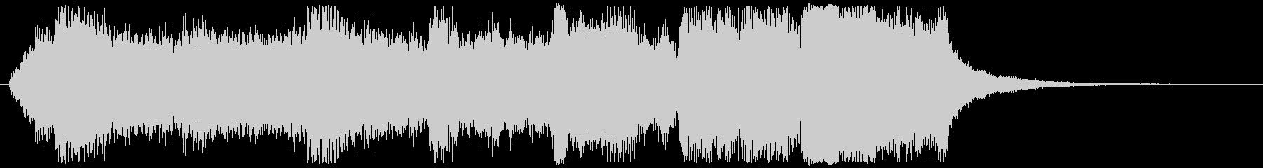 オーケストラ・ファンタジックなジングルの未再生の波形