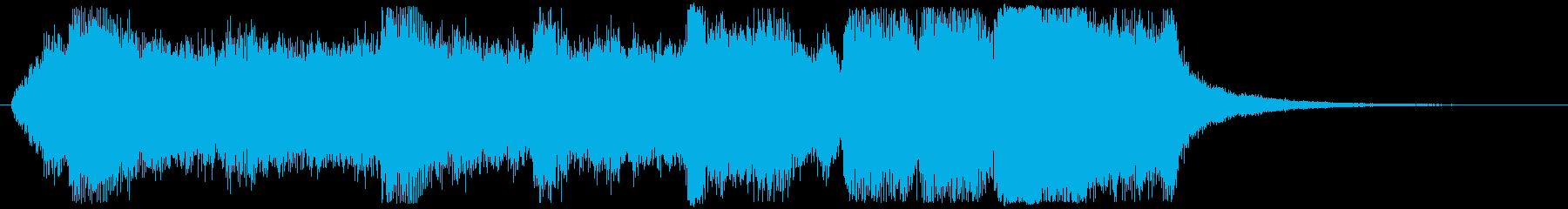 オーケストラ・ファンタジックなジングルの再生済みの波形