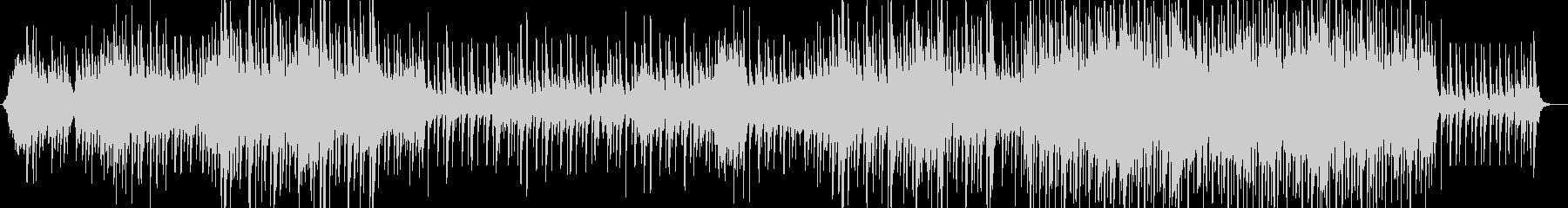 凛としたイメージの和風BGMの未再生の波形