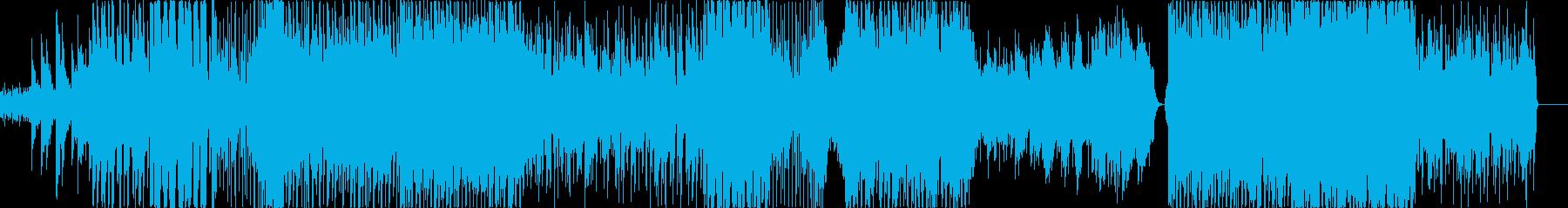 ドラマティックポップスの再生済みの波形
