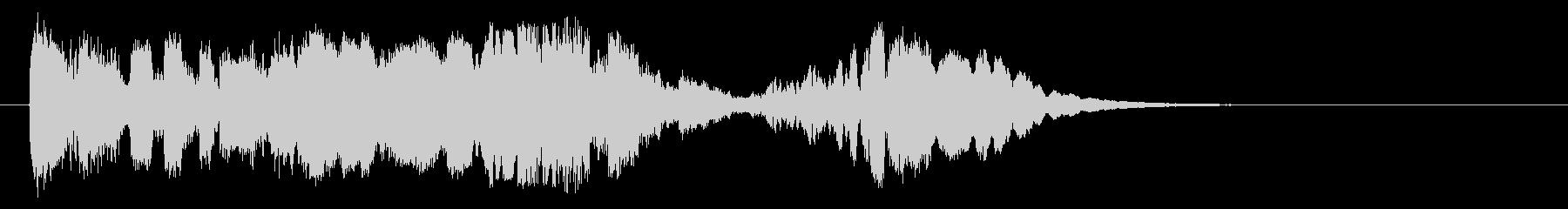 ムーディーなハイクオリティージングル14の未再生の波形