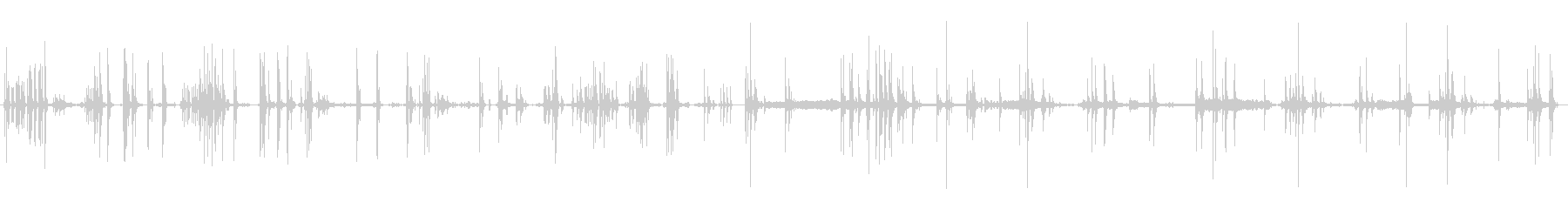 MACHINE、FLIPPER、F...の未再生の波形