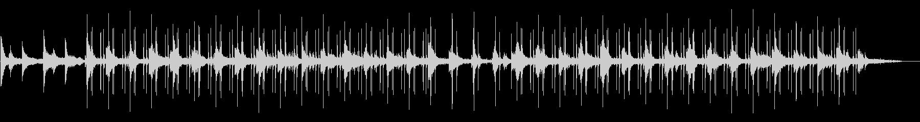 雨音のするジャズLo-fi チルアウトの未再生の波形