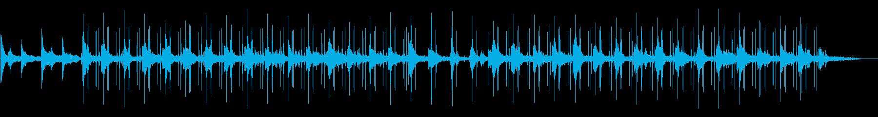 雨音のするジャズLo-fi チルアウトの再生済みの波形
