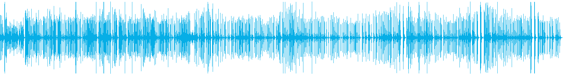お正月BGMの定番「六段の調」琴のみの再生済みの波形