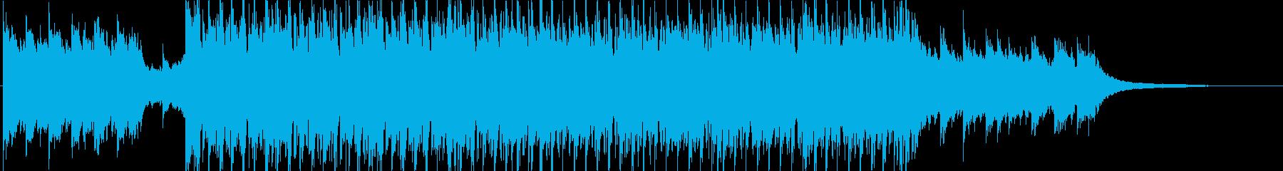 前向きなイメージのオープニング④の再生済みの波形
