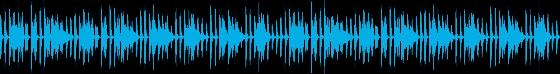 ほのぼのピアノ さんぽ 赤ちゃん  の再生済みの波形