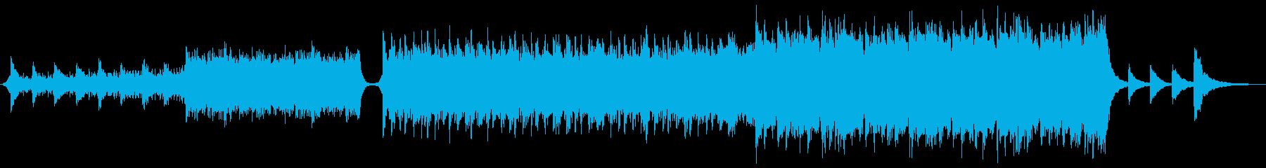 壮大なエピックオーケストラの再生済みの波形