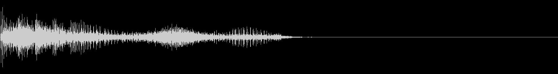 エイリアンの鳴き声の未再生の波形