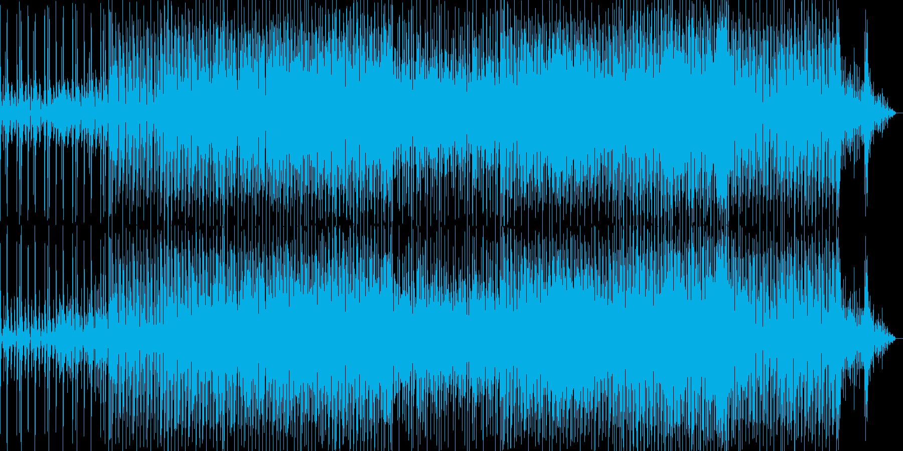気持ち良いシンセの疾走感の再生済みの波形