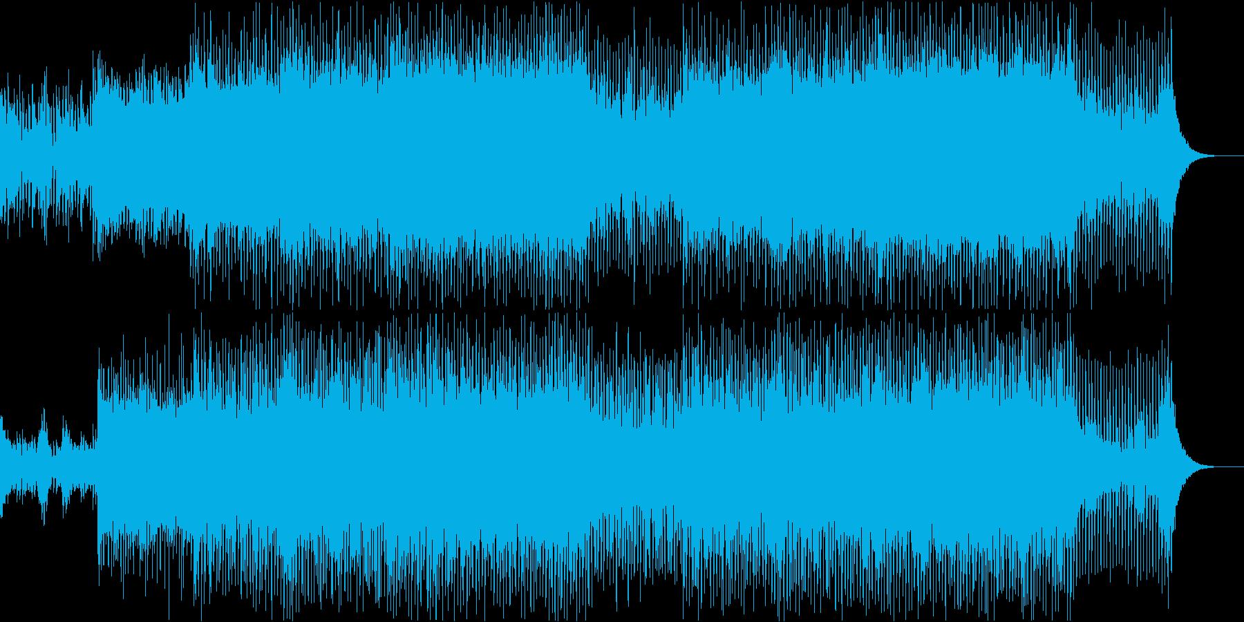 EDMクラブダンス系、メロディアスの再生済みの波形