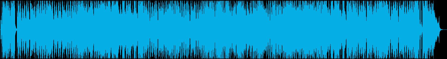 フルートの爽やかな雰囲気のジャズ の再生済みの波形