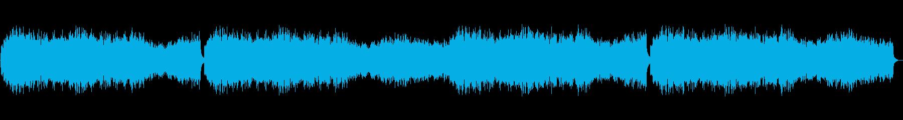 コーラスメインのBGM ゴシックの再生済みの波形