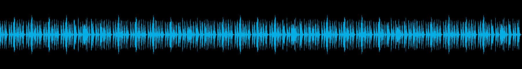 Vtuberの配信 雑談向けBGM11の再生済みの波形