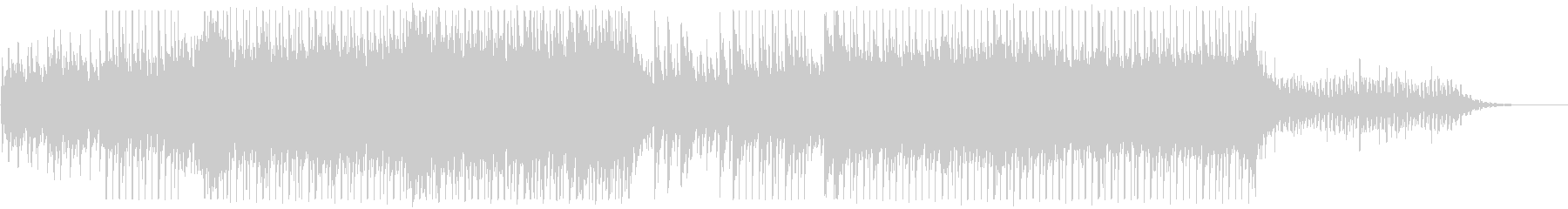 BGM with a beautiful piano's unreproduced waveform