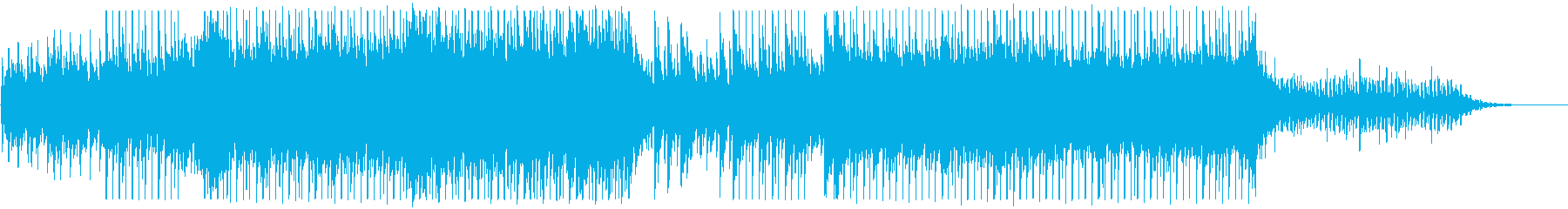 BGM with a beautiful piano's reproduced waveform