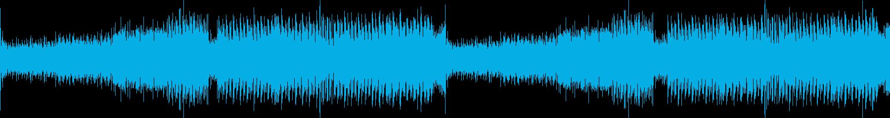 激しいエキサイティングオープニングEDMの再生済みの波形