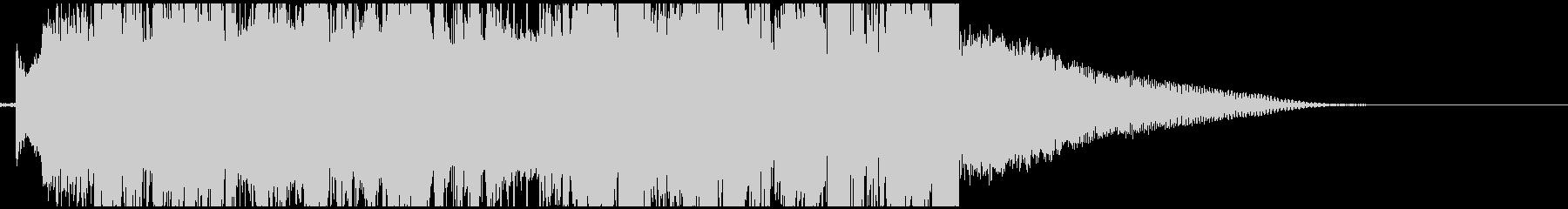 爽やかなFuture Bassのジングルの未再生の波形