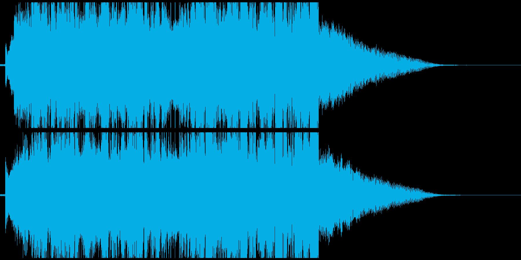 爽やかなFuture Bassのジングルの再生済みの波形