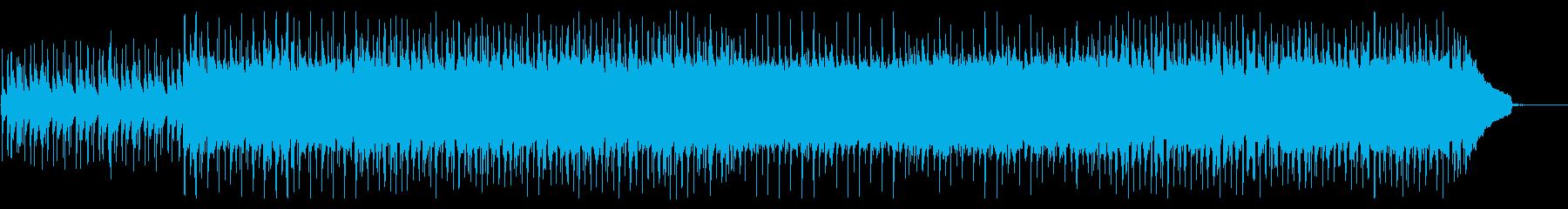 明るく優しい雰囲気のコーポレートBGMの再生済みの波形