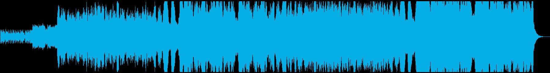 スコットランド民謡グリーンスリーブスの再生済みの波形