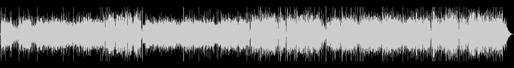 レトロ感あるボサノバの未再生の波形