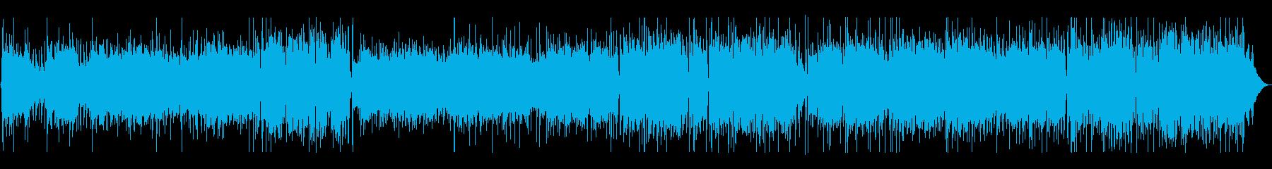 レトロ感あるボサノバの再生済みの波形