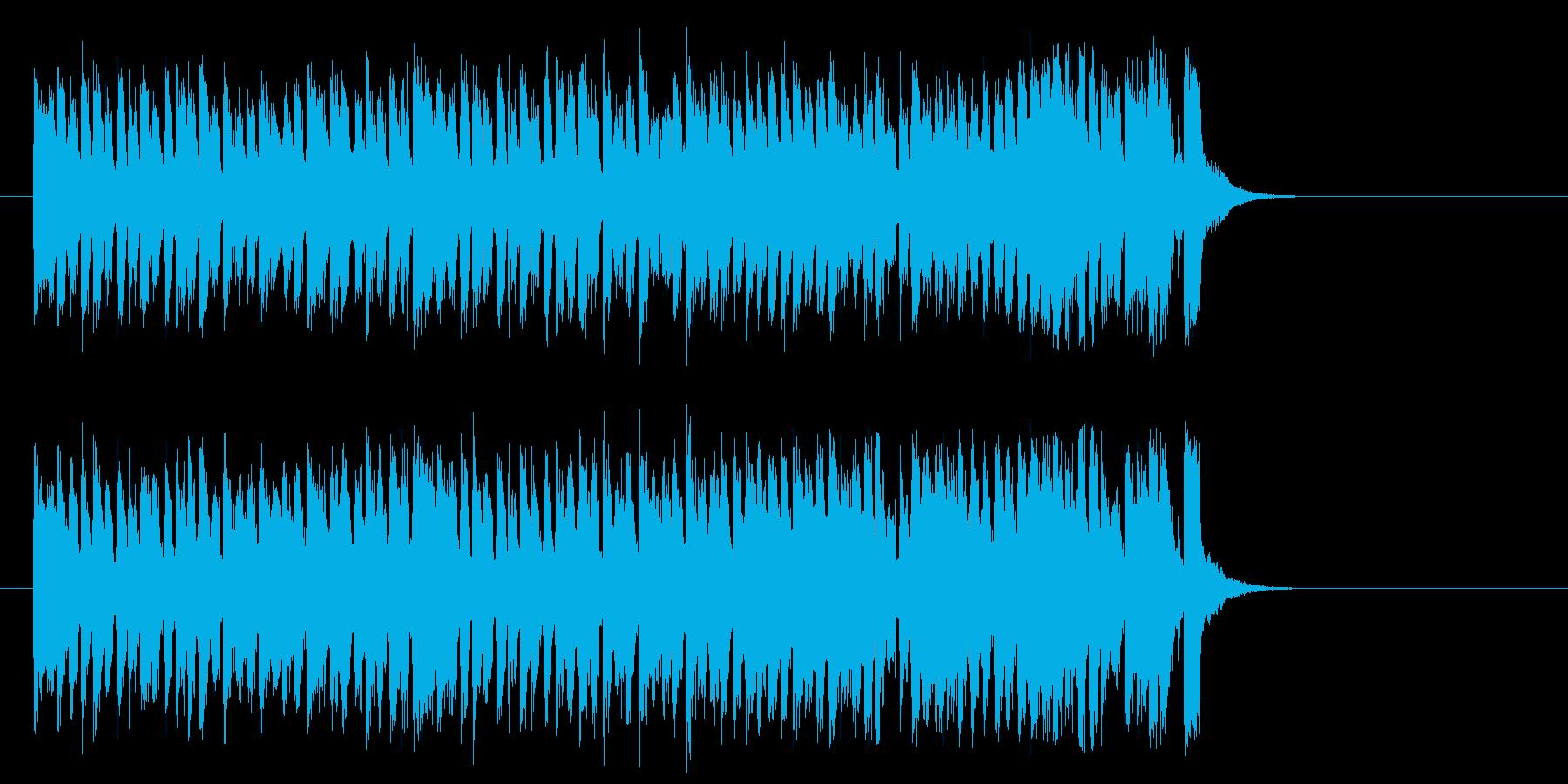 爽快な8ビート・ポップス(イントロ)の再生済みの波形