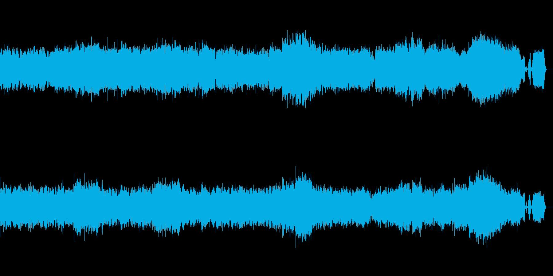 クープランの墓より第三楽章メヌエットの再生済みの波形