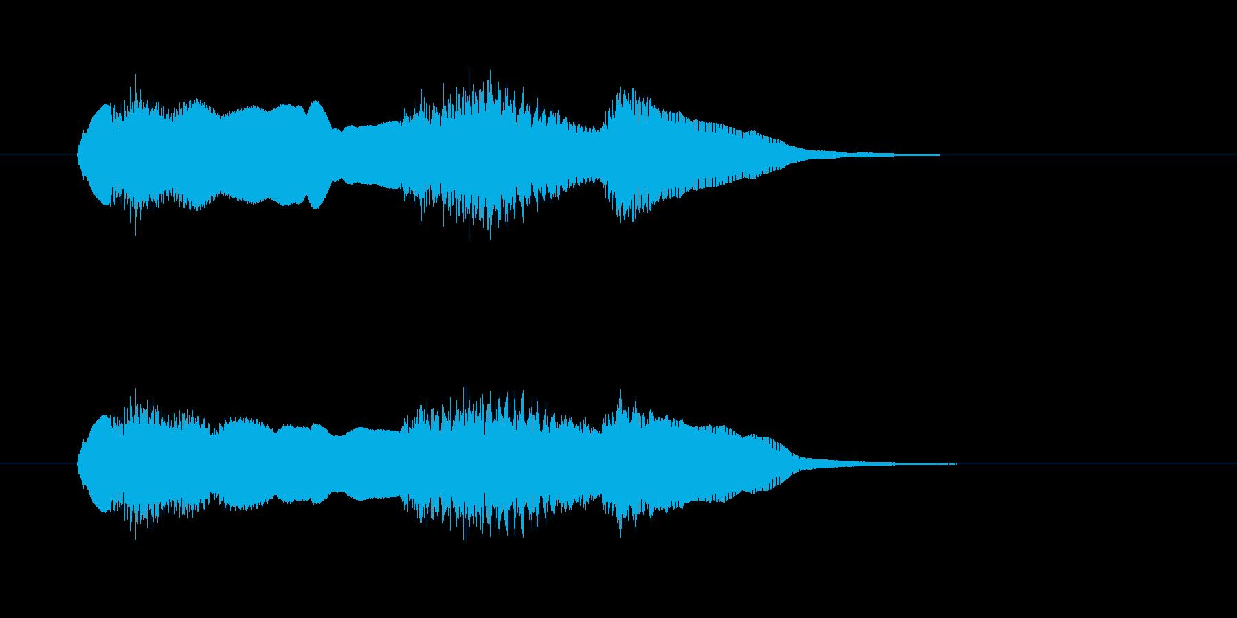 テンポの速いツィゴイネルワイゼンの再生済みの波形