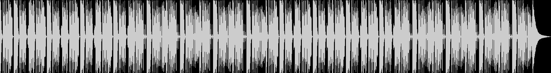 まったりとした日常、ほのぼのリコーダーの未再生の波形