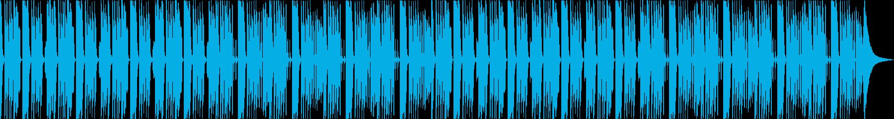 まったりとした日常、ほのぼのリコーダーの再生済みの波形