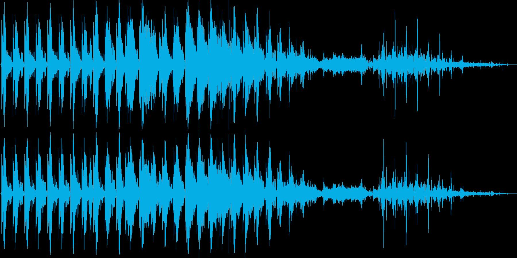MILESの再生済みの波形
