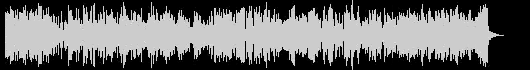 ゴルトベルク変奏曲木管トリオバージョンの未再生の波形