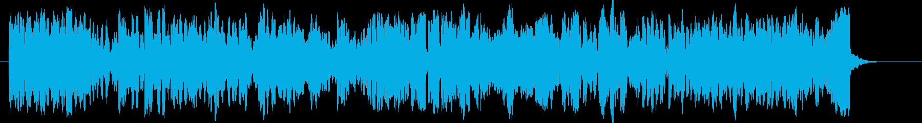 ゴルトベルク変奏曲木管トリオバージョンの再生済みの波形