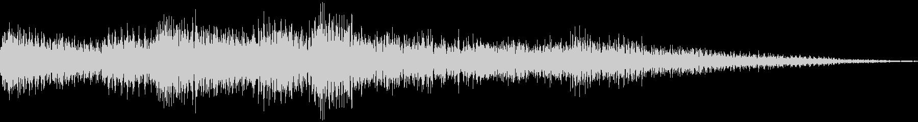 ゲームクリア効果音の未再生の波形