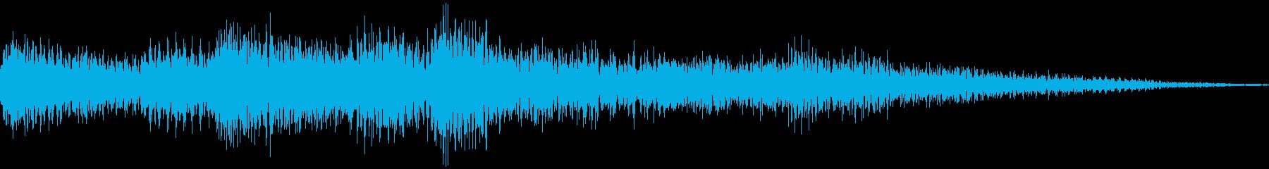 ゲームクリア効果音の再生済みの波形