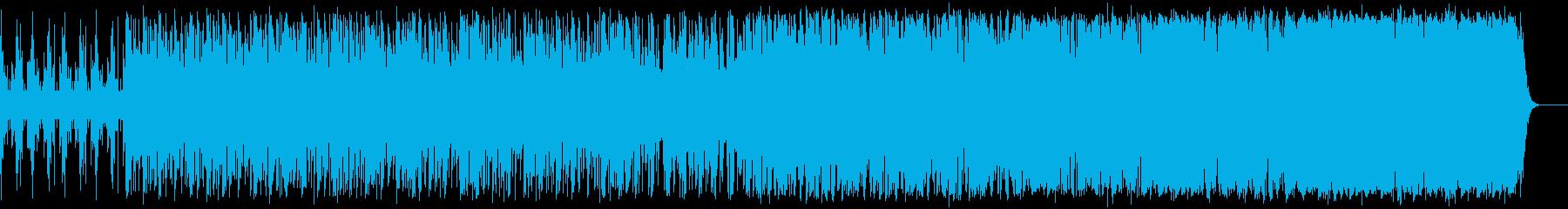 疾走感のある近未来エレクトロの再生済みの波形