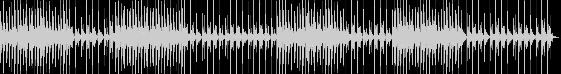 眠りを誘う癒やしのヒーリングピアノの未再生の波形