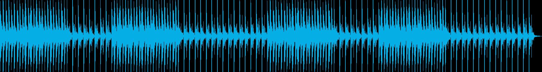 眠りを誘う癒やしのヒーリングピアノの再生済みの波形