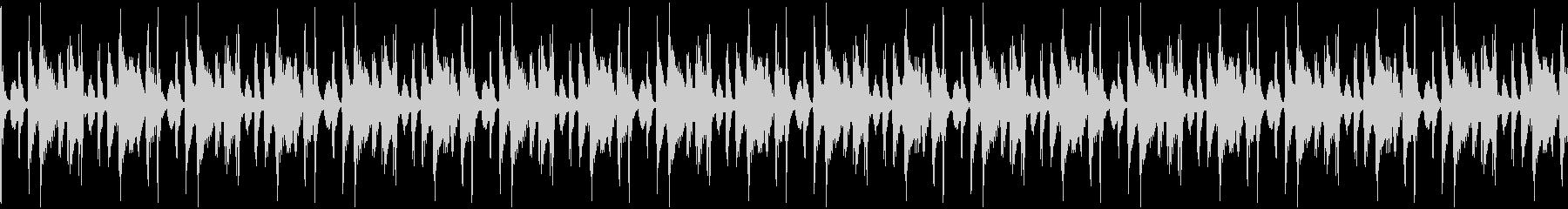 サンバ・パーカッションのループ音素材の未再生の波形