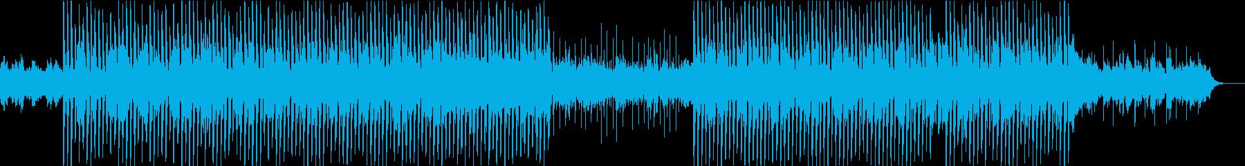 引き立てられたシンセとエレクトロニ...の再生済みの波形